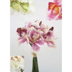 Bouquet Orchidée, cymbidium H23 cm