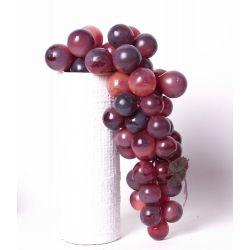 Grappe de raisin + Feuille effet givré H34 cm x 54
