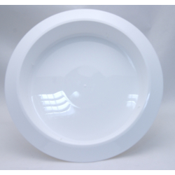 Bac Rond PVC Blanc 300x50mm par 3