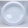Bac Rond PVC Blanc 300x50 par 3