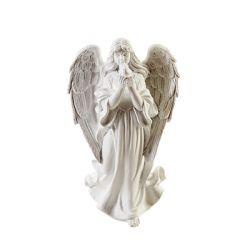 Sainte Vierge Résine Blanc L8 x P11,5 x H20 cm