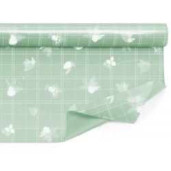ORNELLA - Bulle Clayrbrill Vert clair 0.80 x 40 m
