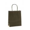 Sac Kraft Noir 100g tors 23x12x30 - 50 sacs