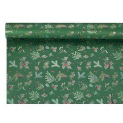 NATALIA - Opaline motifs Vert 0.80 x 40 m 40µ