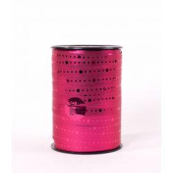 "Bolduc Miroir""Elton"" 10mmx225m Rose"