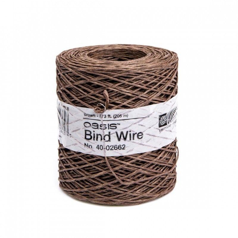 BindWire Brun 0.4mmx205m