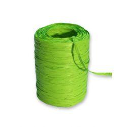 Raphia Synthétique Vert Pomme L200m