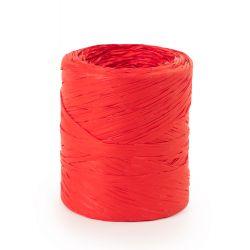 Raphia Synthétique Rouge 15 mm x 200 m