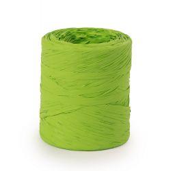 Raphia Synthétique Vert pomme 15 mm x 200 m