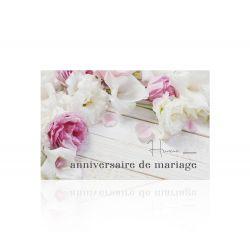 """Anniv - Carte Jeso """"Romantico"""" par 10 Anniversaire de mariage"""