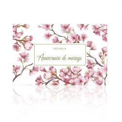 Carte Jeso Theatro Amour par 10 Anniversaire de mariage