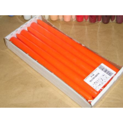 Bougie Flambeau 25cm Orange...