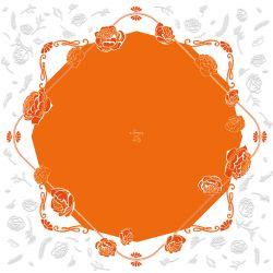 AUDREY - Bulle carré Orange 0.60 x 40 m