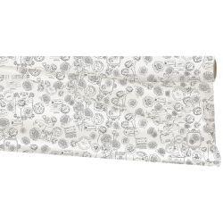LUCY - Opaline Duomat Gris 0.79 x 25 m