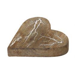 HEART - Cœur en bois déco D15 cm