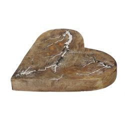 HEART - Cœur en bois déco D20 cm