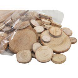 Tranches de bois mix Naturel 330 gr
