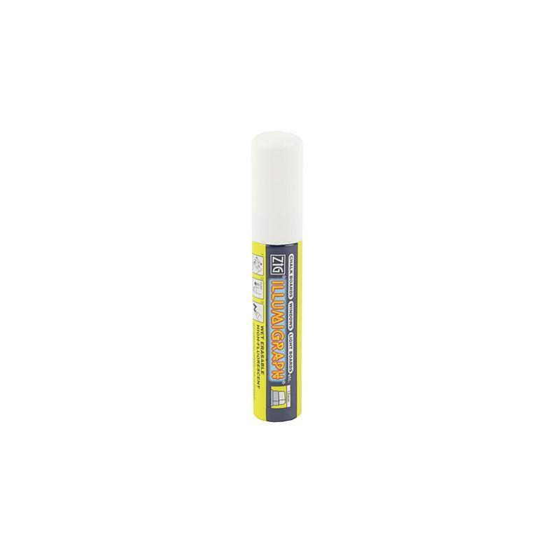Gros Feutre Craie Blanc 15 mm