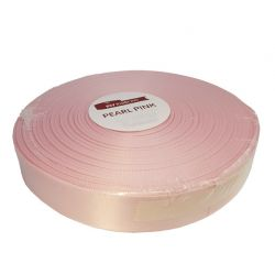SATIN - Ruban Satin 10mm x 30m Rose Pale