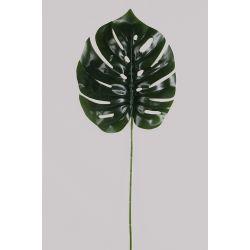 Feuille de Monstrera Vert L100 cm x