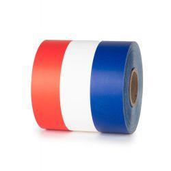 Ruban Tricolore 75mm x 50m