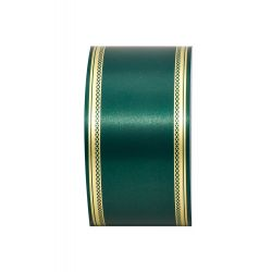 Ruban Deuil LAURO Vert Foncé 75mm x 50m