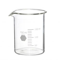 HYDRO - Vase laboratoire en verre H11 D9 cm par 6