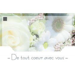 CONDO - Carte Jeso Silenzio par 10 De Tout Coeur Avec Vous