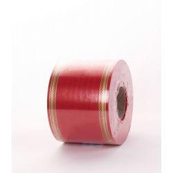 Ruban Deuil LAURO Rouge 75mm x 50m