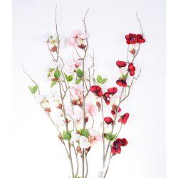 Fleur sur tige Cerisier du japon Assorties H98 cm par 3