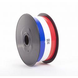 Ruban Tricolore 75mm x 50 m