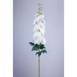Delphinium sur tige 3 feuilles Crème H93 cm
