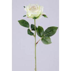 Rose sur tige 6 feuilles Vert