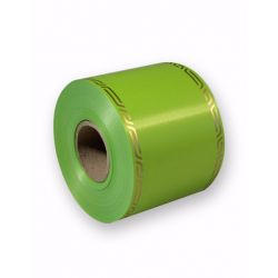 Ruban Deuil Cérémony Vert 75mm x 46m