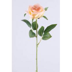 Rose sur tige 6 feuilles...