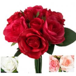 Bouquet de roses 6 fleurs 3...