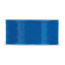 Ruban Organza 40mmx50m Bleu...