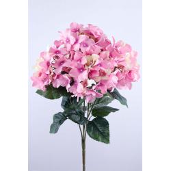 Bouquet Hortensia Rose H48 cm