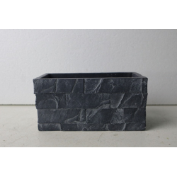ARDOISE- Jardinière Ciment...