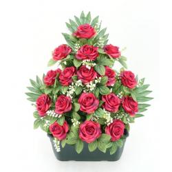 Jardinière de rose, gypso...
