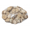 Sachet tranches de bois Bouleau Naturel D2-5 cm par 500 gr