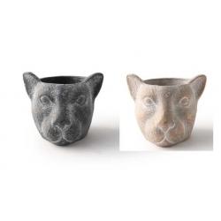ANIMAUX - Pot Ciment Tête...