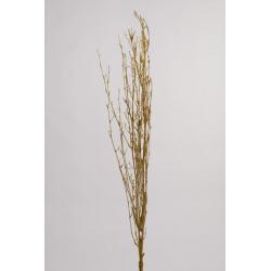 Branche bambou paillettes 120 cm Or