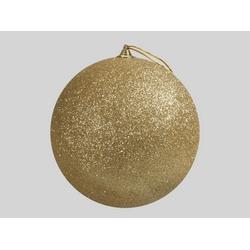 Boule de Noël d25 cm à suspendre Or