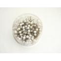 Epingles Perle Blanc d10mmxh60mm par 250