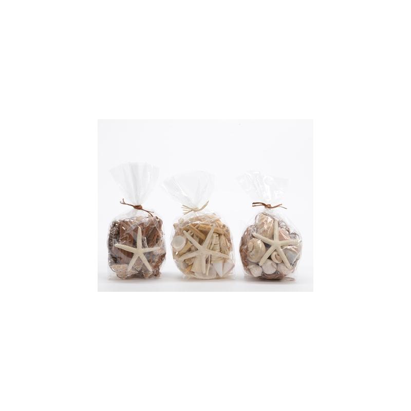 Coquillages avec Etoile de mer sachet 150g Naturel