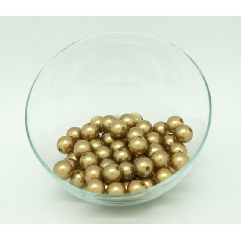 Perles 14 mm Or Par 72