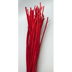 ROTIN PLAT - Botte 110cm Rouge par 150g