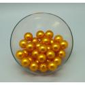Perles 20 mm Abricot par 36