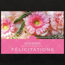 Carte Sincéres Félicitations par 10